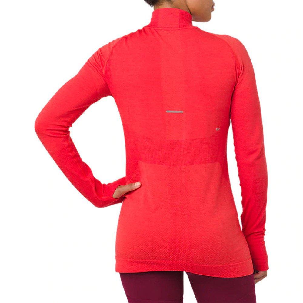 asics system long sleeve layer 2 w czerwona