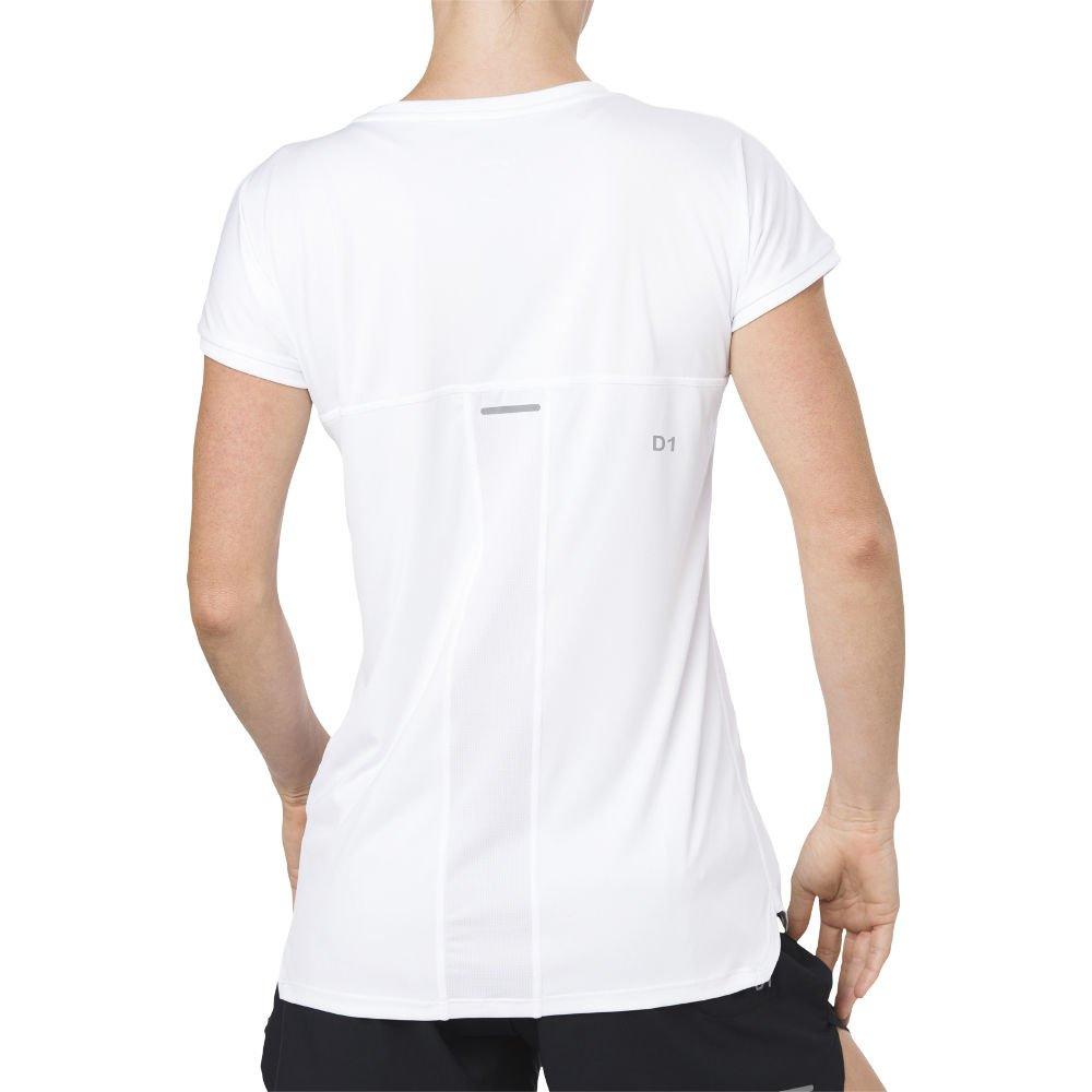 asics capsleeve top w biała