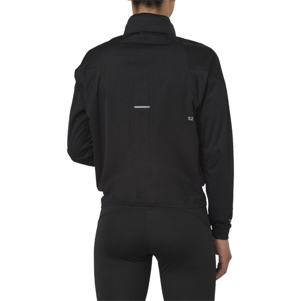 asics accelerate jacket w czarna