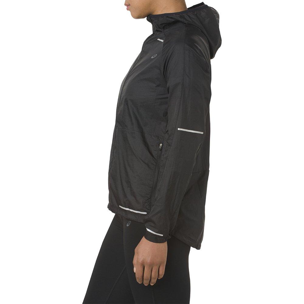 asics lite-show jacket w czarna