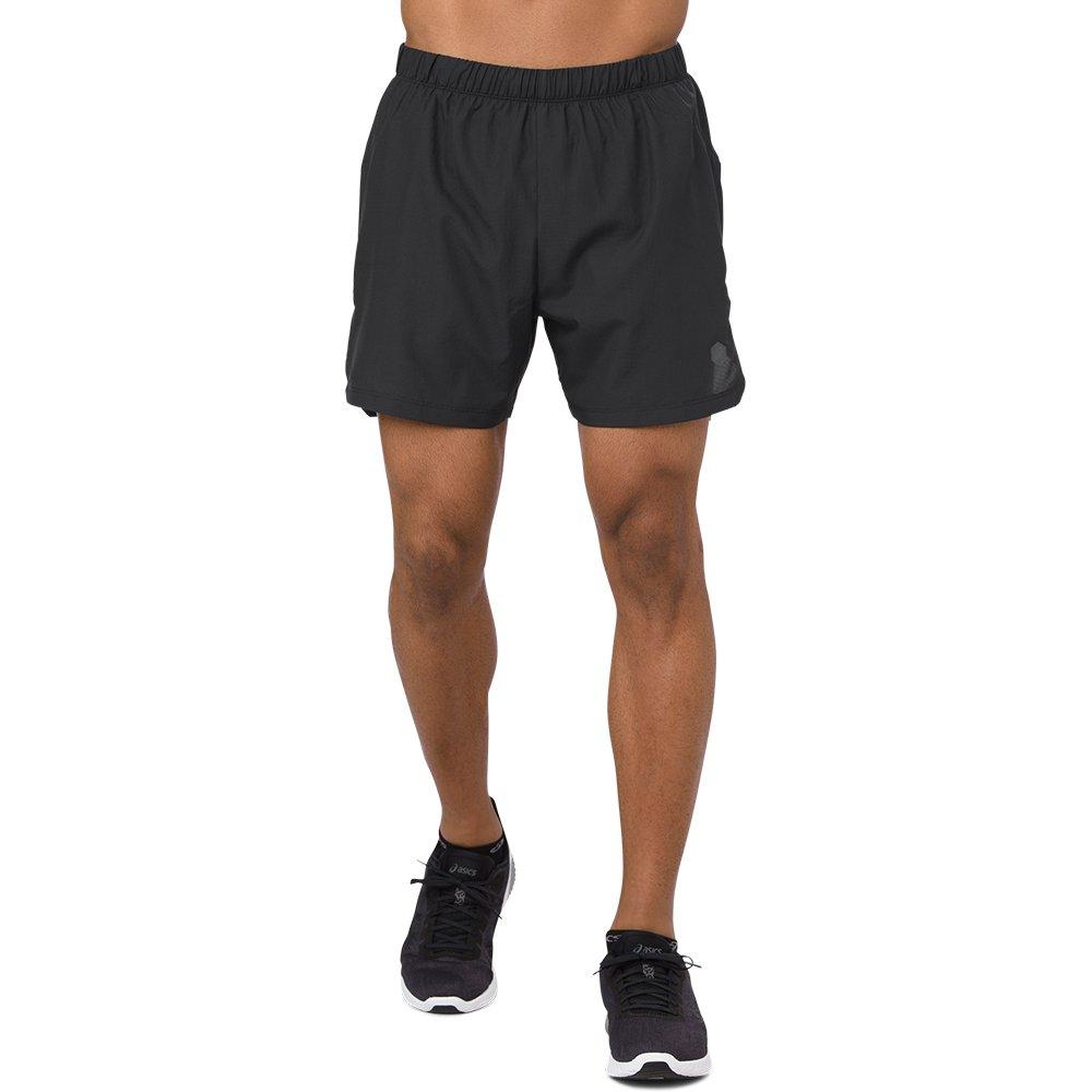 asics cool 2-in-1 5 inch short m czarne