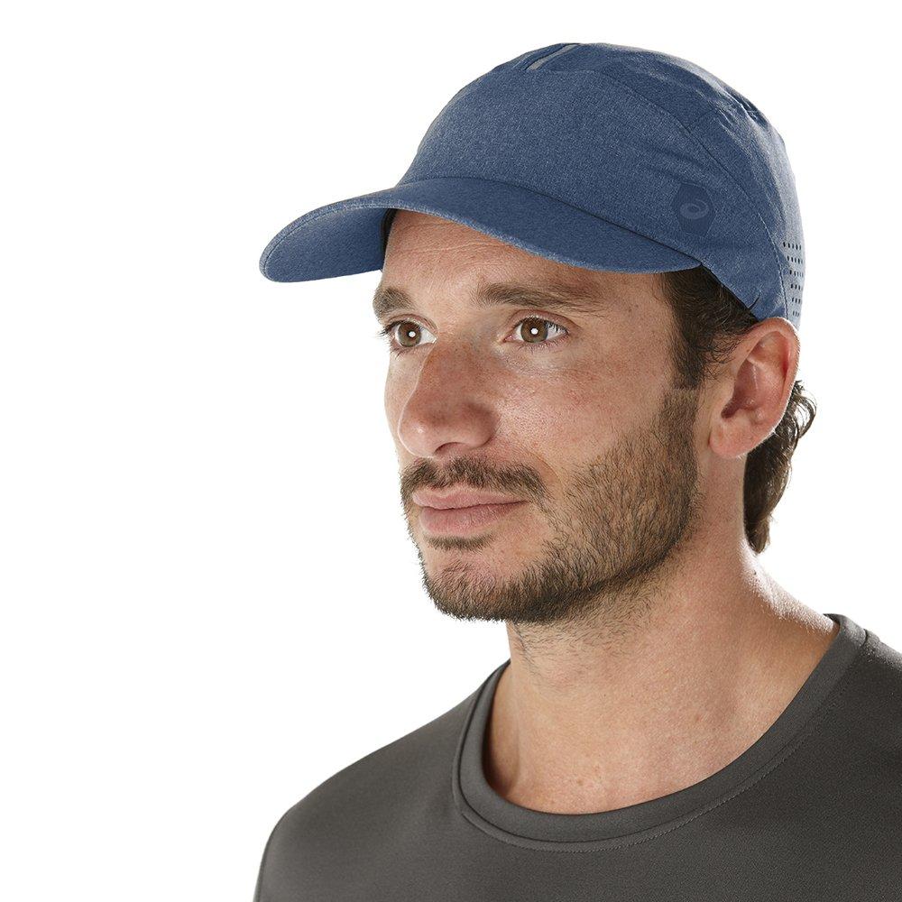 czapka asics running cap granatowa