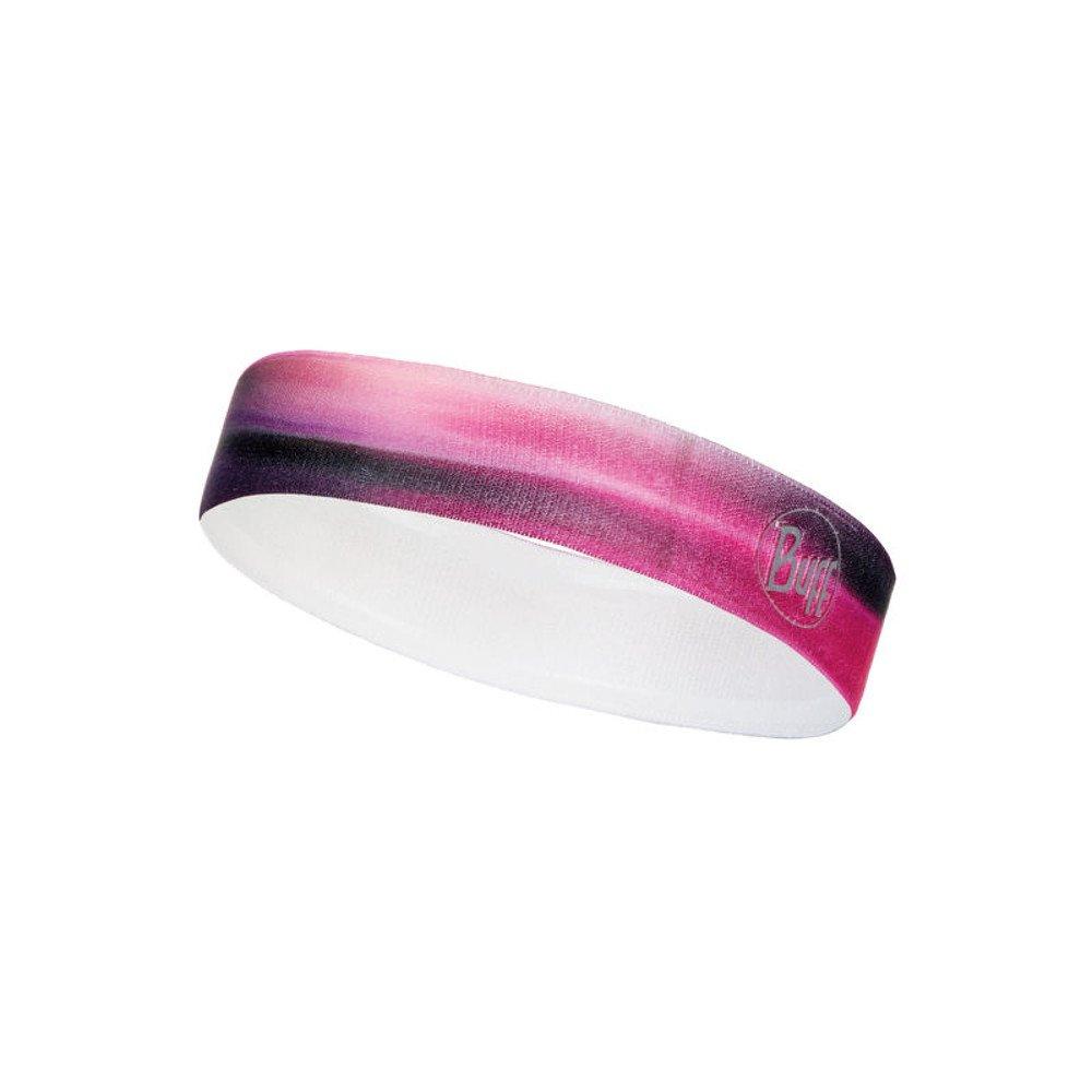 buff wide hairband r-luminance różowa