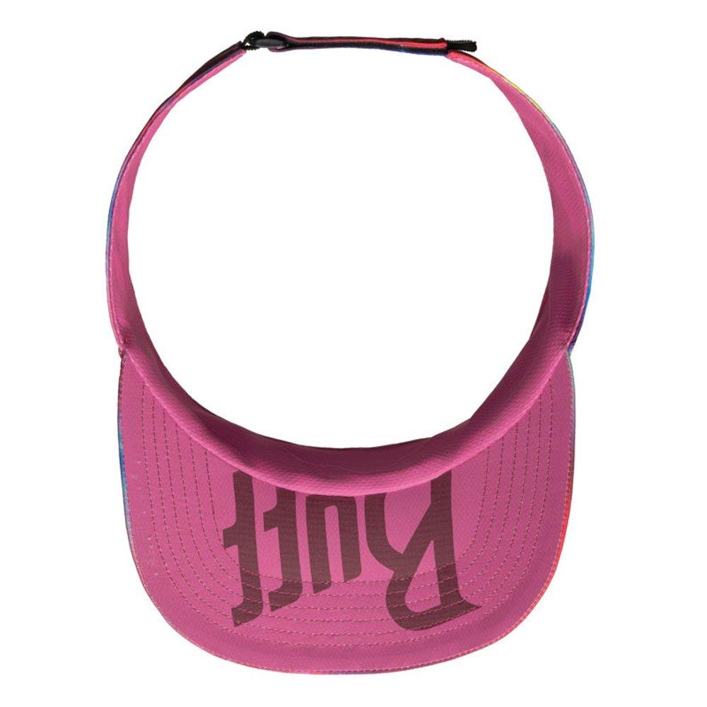 buff visor r-shining różowa