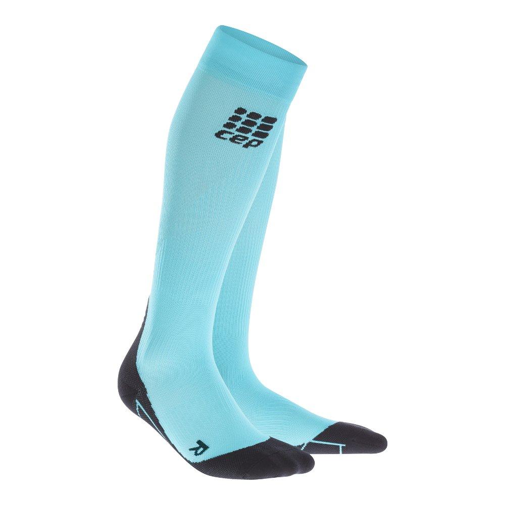 cep compression socks 2.0 w czarno-błękitne