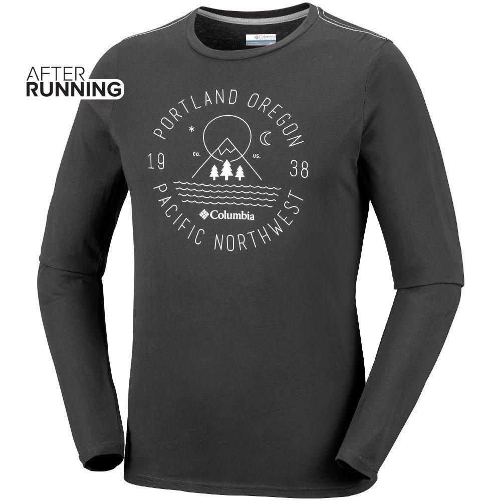koszulka columbia mill creek™ long sleeve czarna
