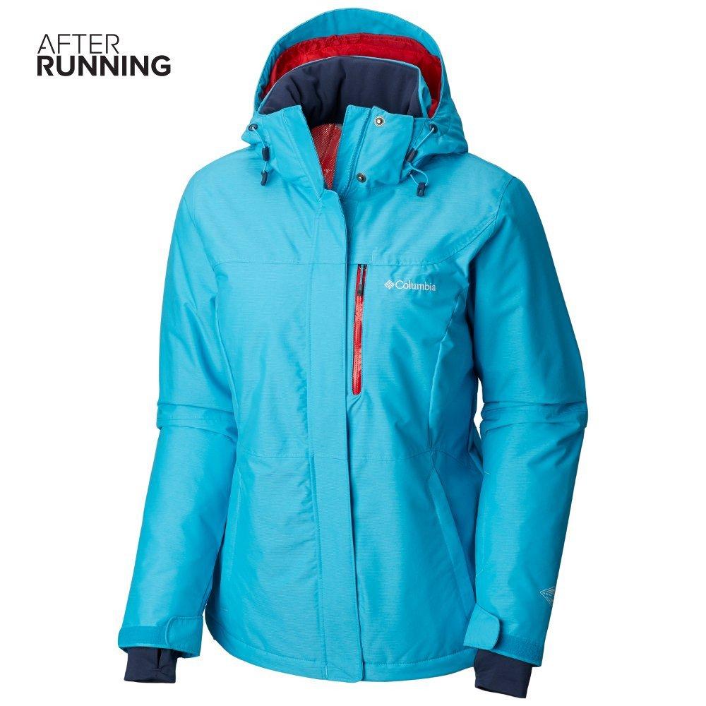 columbia alpine action insulated waterproof winter jacket w błękitna