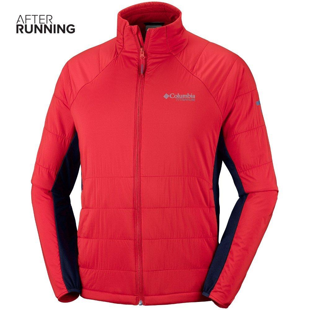 columbia alpine traverse jacket m czerwona