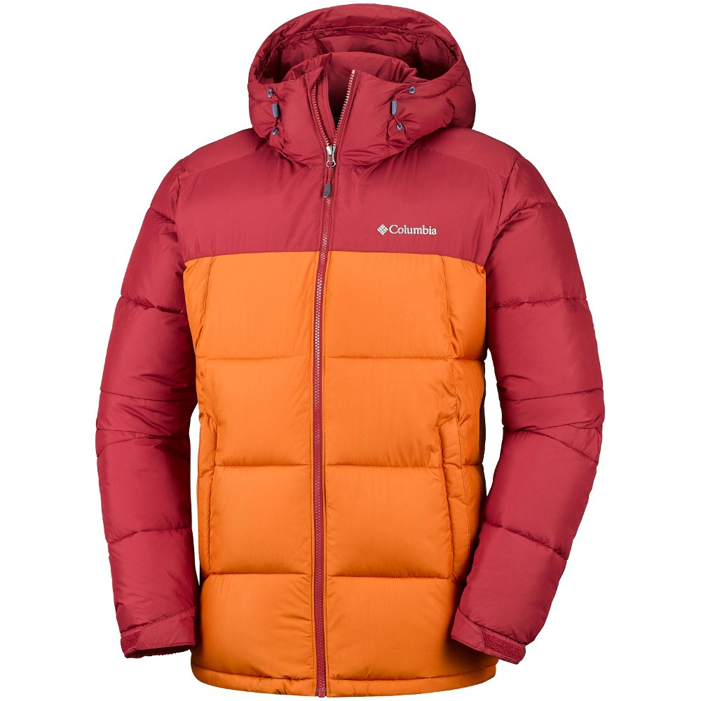 kurtka columbia pike lake™ hooded jacket red elemen