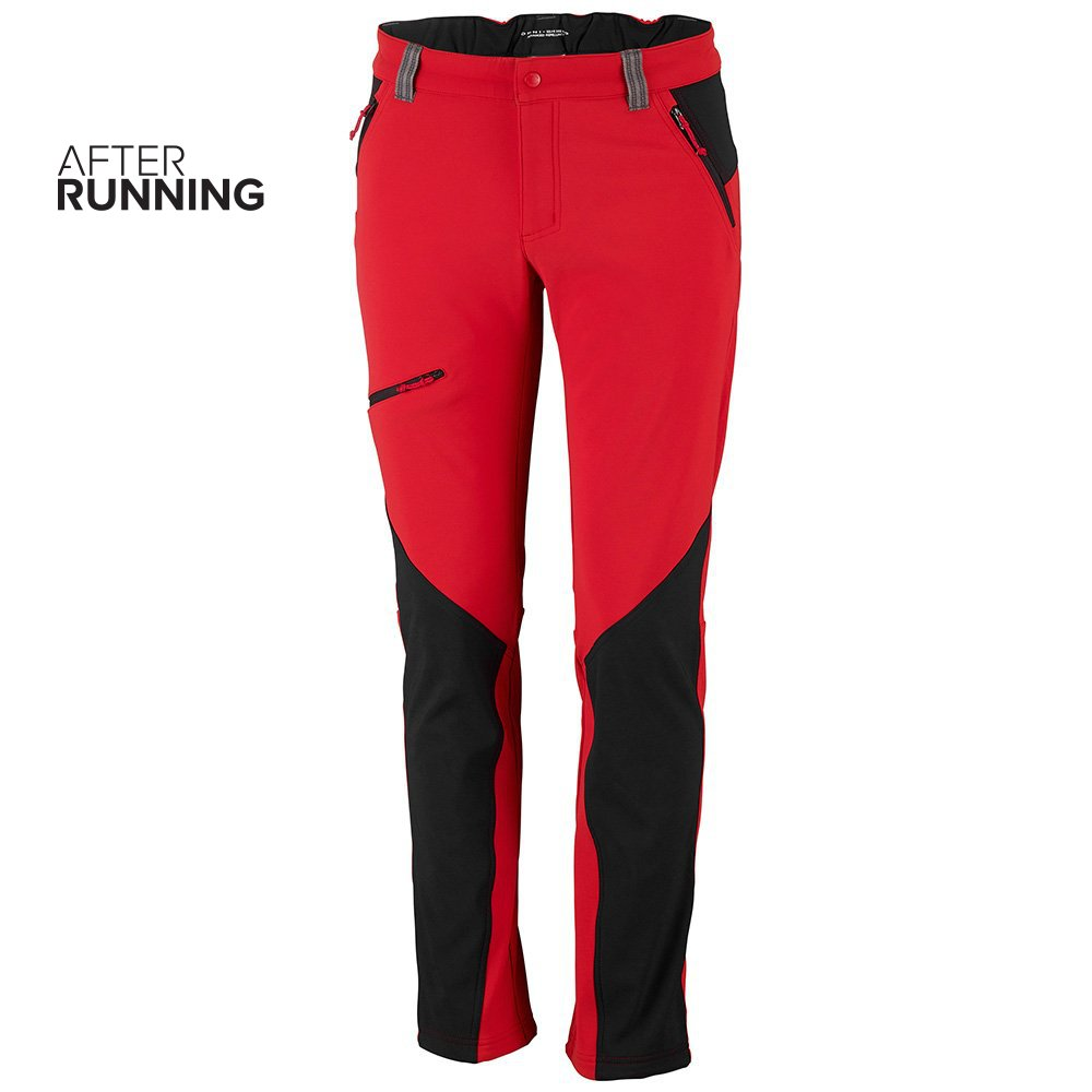 spodnie columbia triple canyon™ fall hiking czerwone