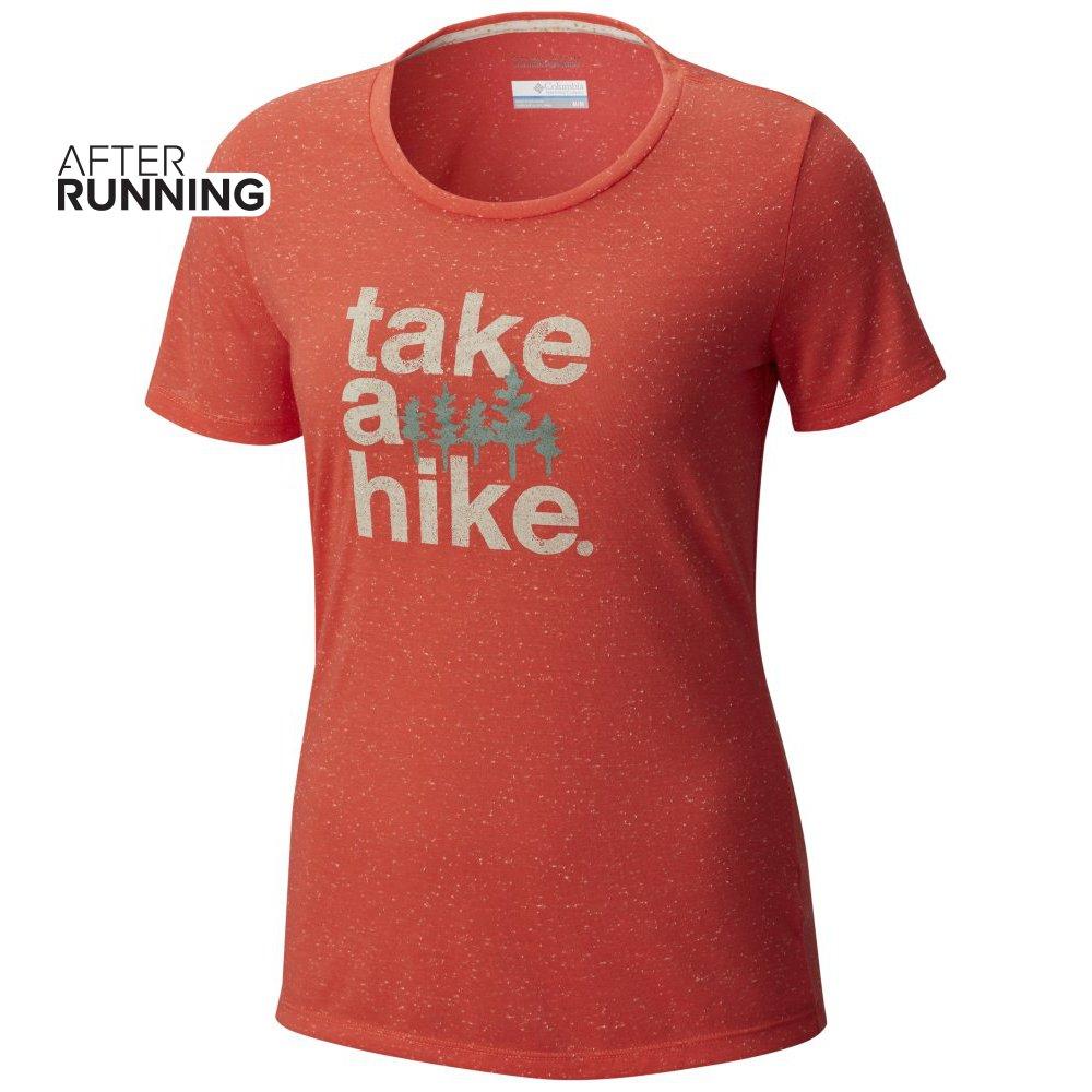koszulka damska columbia outdoor element pomarańczowa