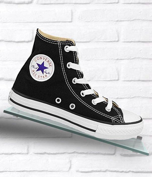 Converse Chuck Taylor All Star Hi czarno białe