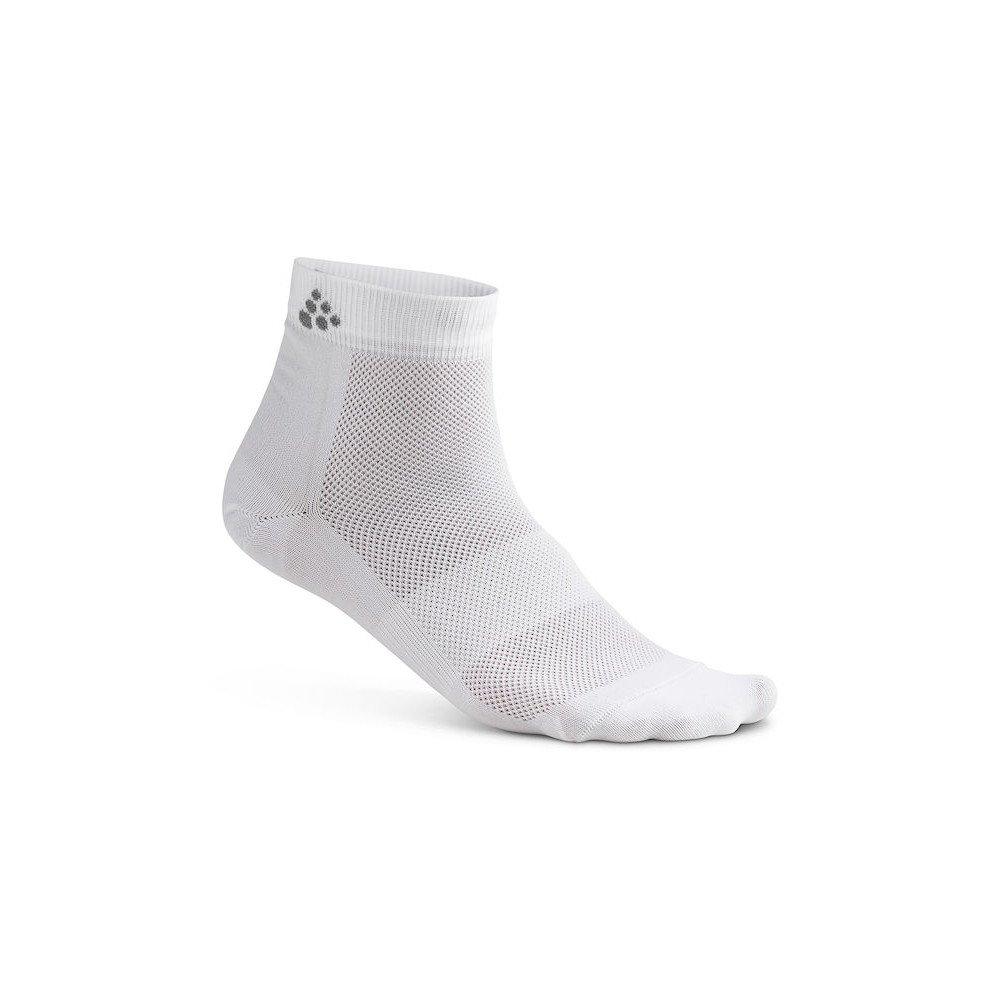 craft cool mid 3-pack sock białe