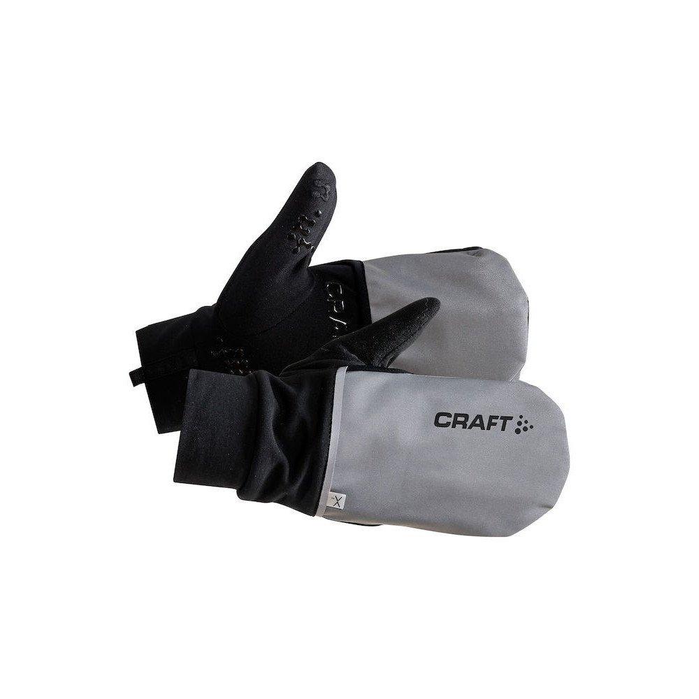 craft hybrid wheather glove czarno-szare