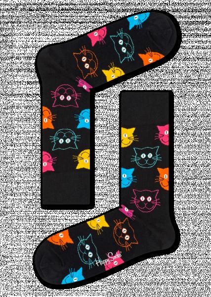 happy socks cat sock (mja01-9001)