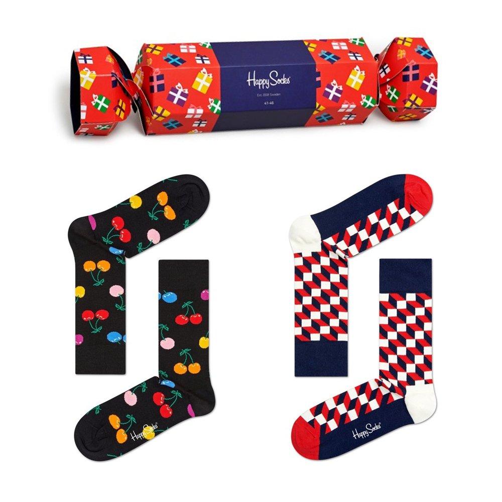 skarpety happy socks 2-pack giftbox (sxgif02-4300)