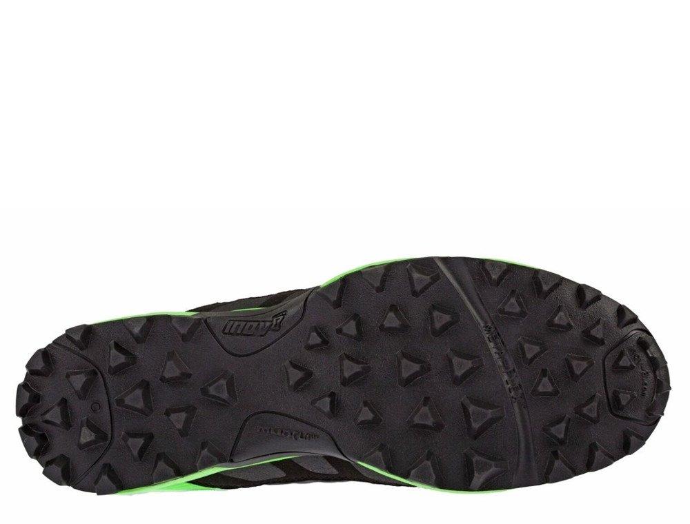 buty inov-8 mudclaw 300 czarno-zielone