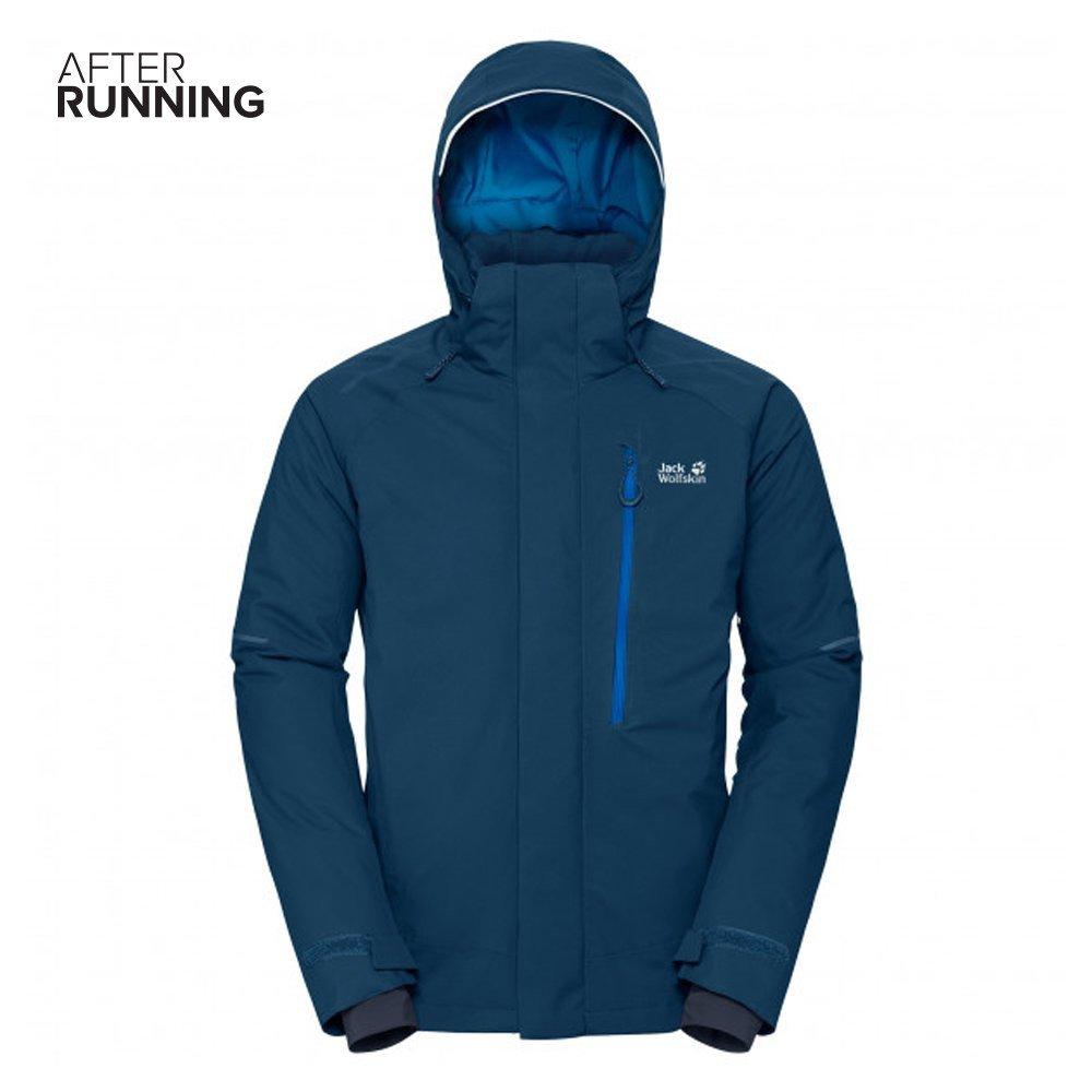 jack wolfskin exolight icy jacket m morski-niebieski