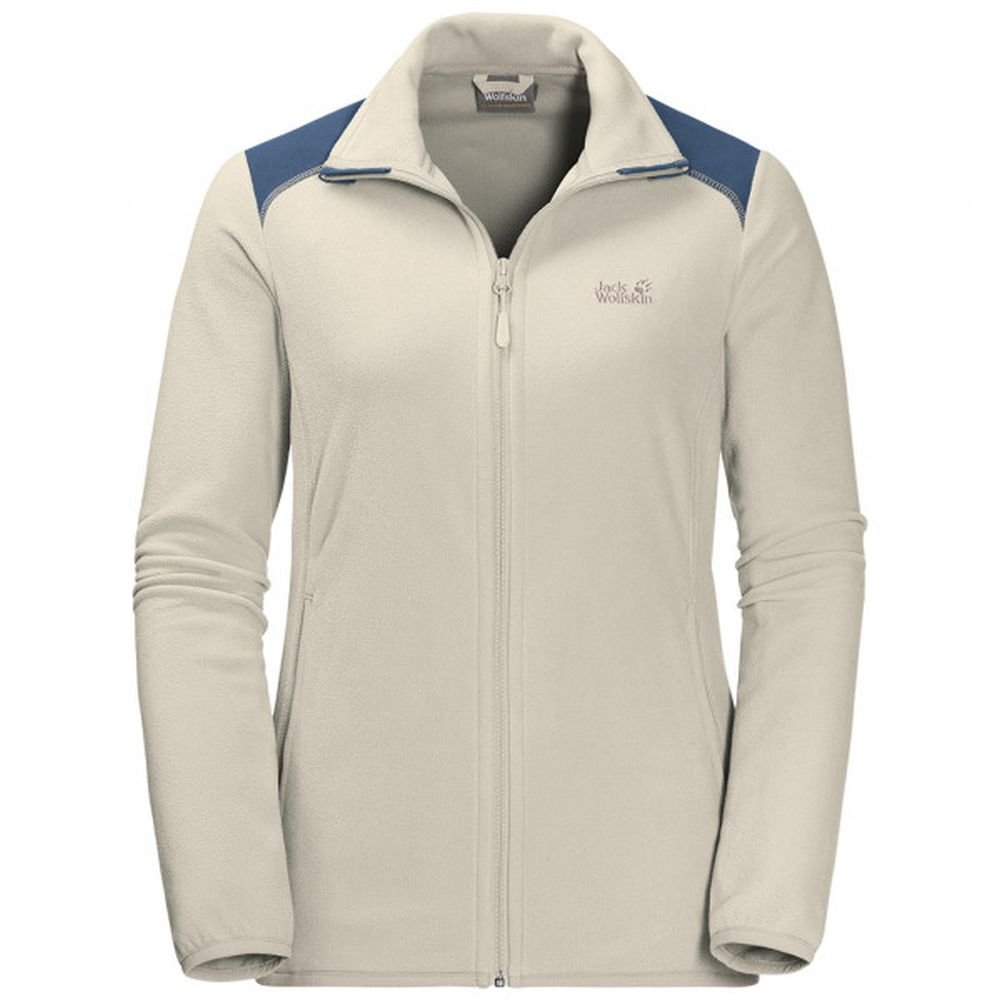 kurtka  jack wolfskin performance flex jkt women white sand