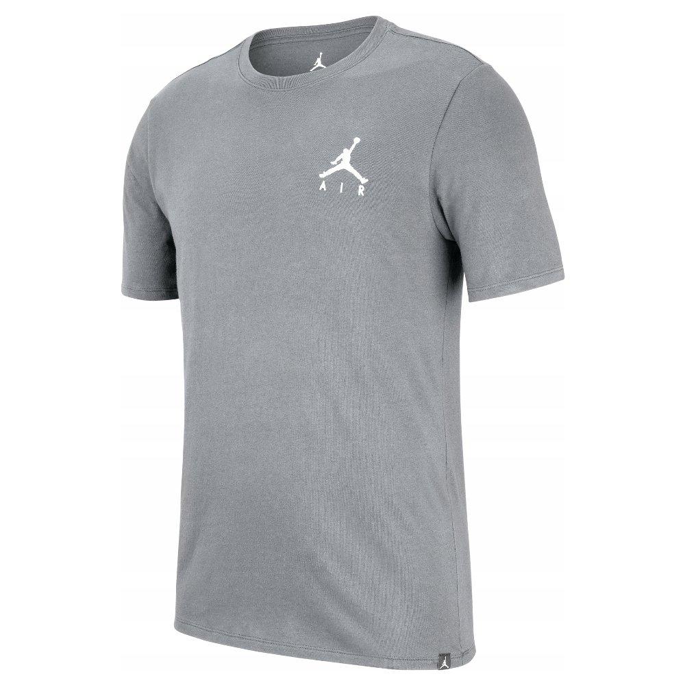 """koszulka jordan jumpman air embroidered tee """"grey"""" (ah5296-091)"""