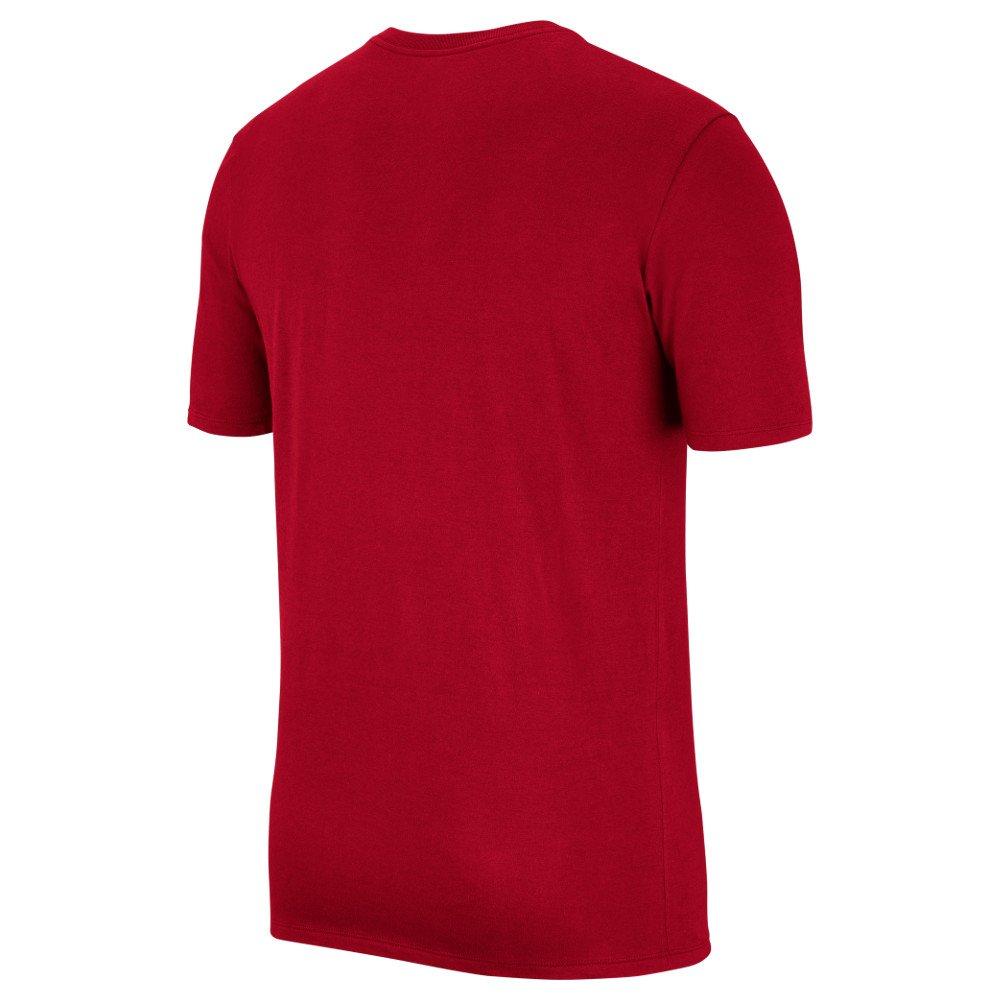 "jordan jumpman air embroidered tee ""red"" (ah5296-687)"
