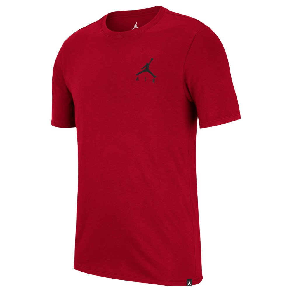 "koszulka jordan jumpman air embroidered tee ""red"" (ah5296-687)"