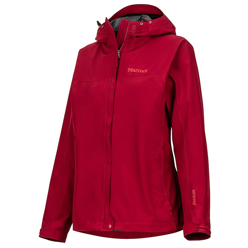 kurtka damska marmot minimalist jacket czerwona