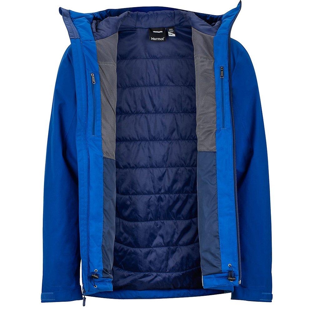 kurtka marmot solaris jacket dark cerulean
