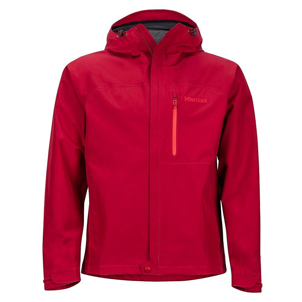marmot minimalist jacket sienna red męska czerwona