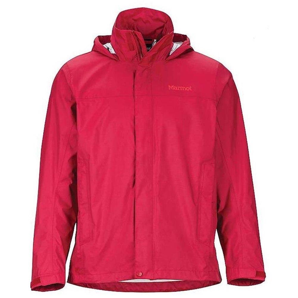 marmot precip jacket sienna red
