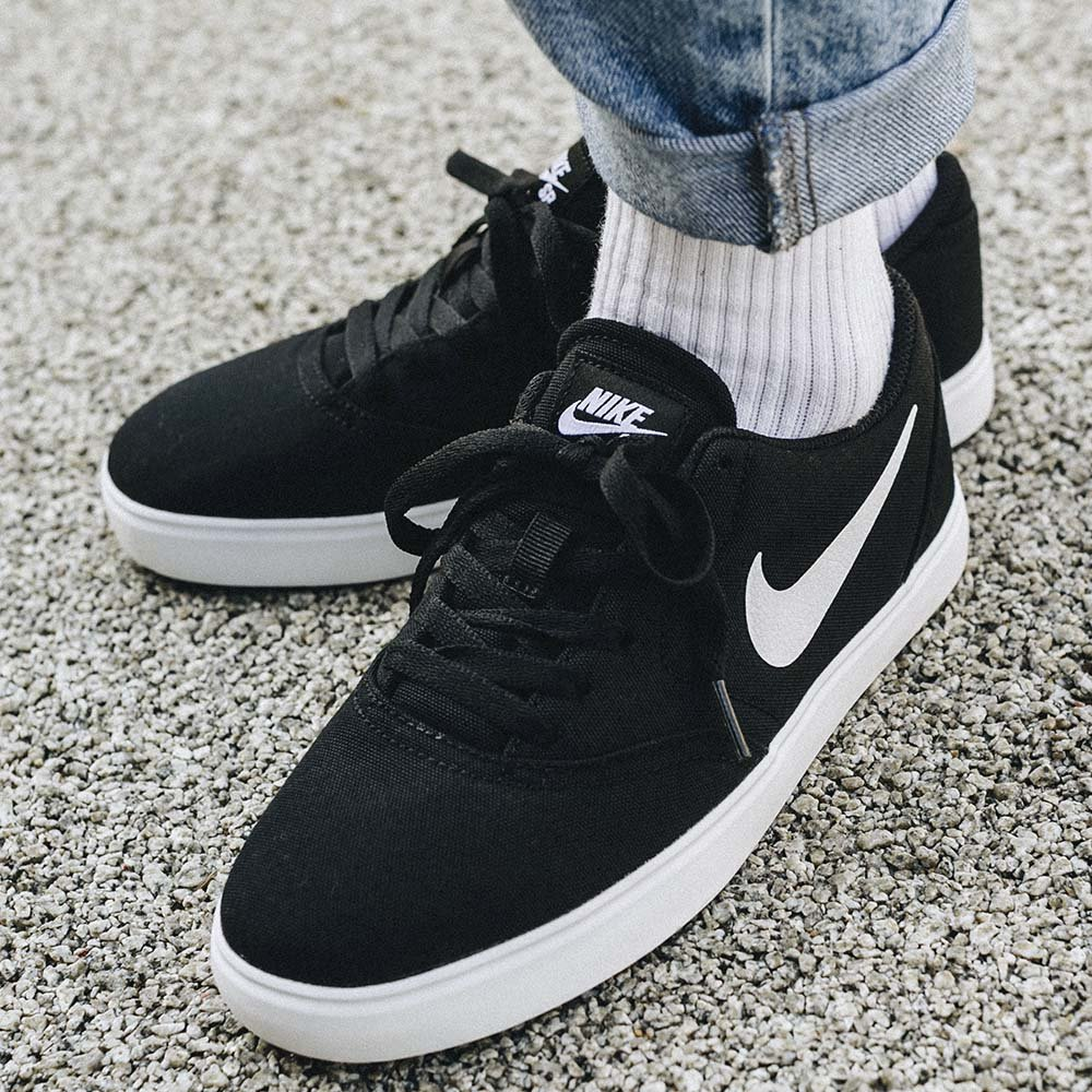 nike sb check canvas (gs) (905373-003)