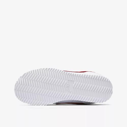 nike cortez basic sl (psv) biało-czerwone