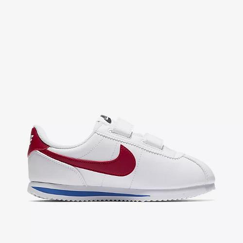Nike Cortez Basic SL (PSV) biało czerwone