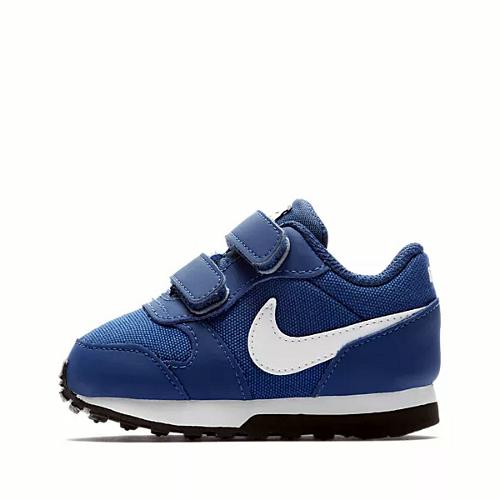 nike md runner 2 (tdv) niebiesko-białe