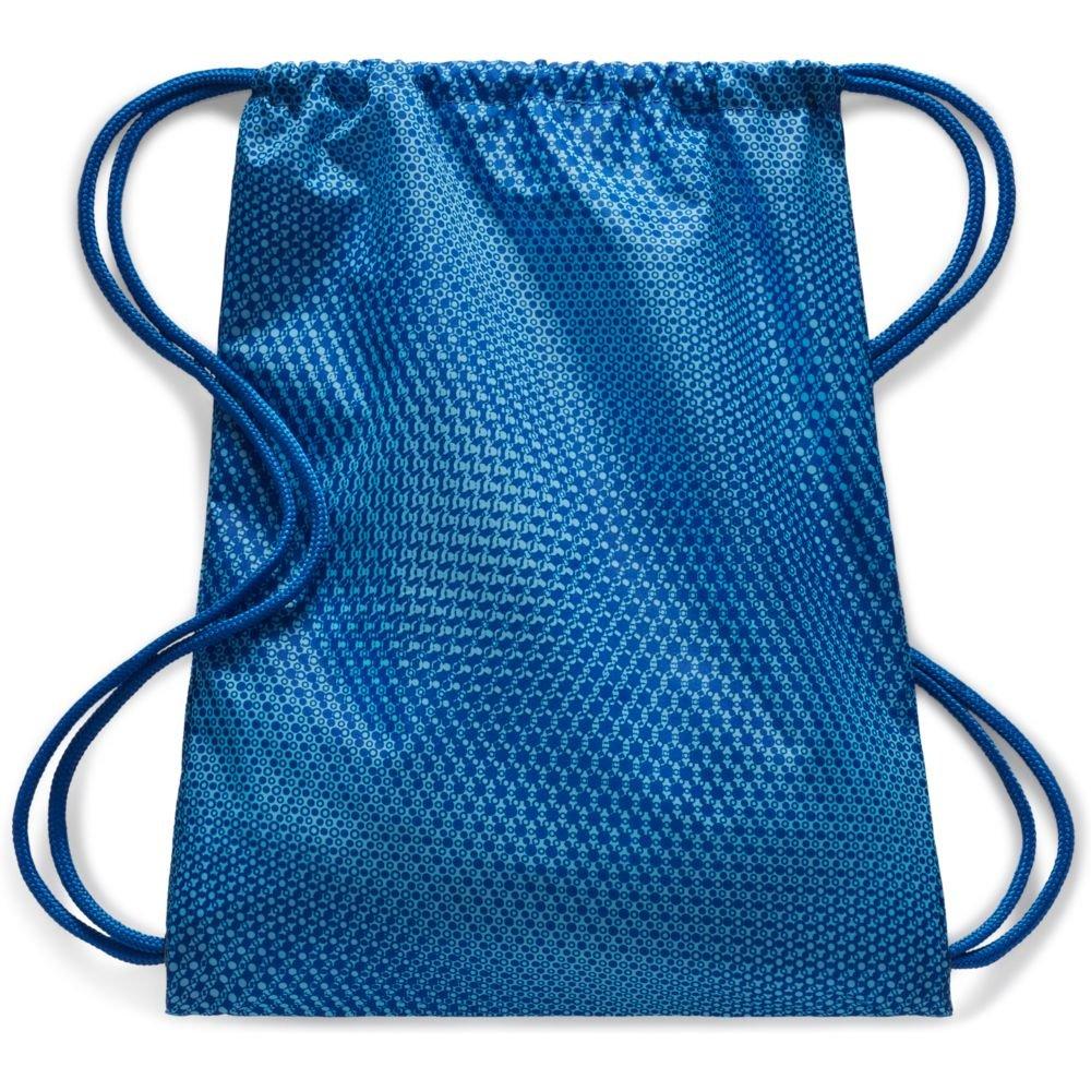 nike graphic gym sack bag stalowo-niebieski