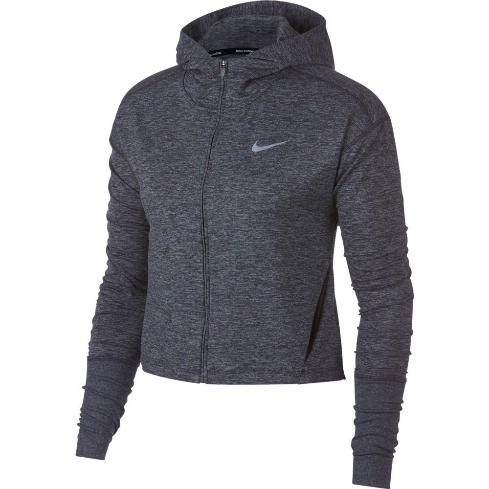 nike full-zip hoodie w szara