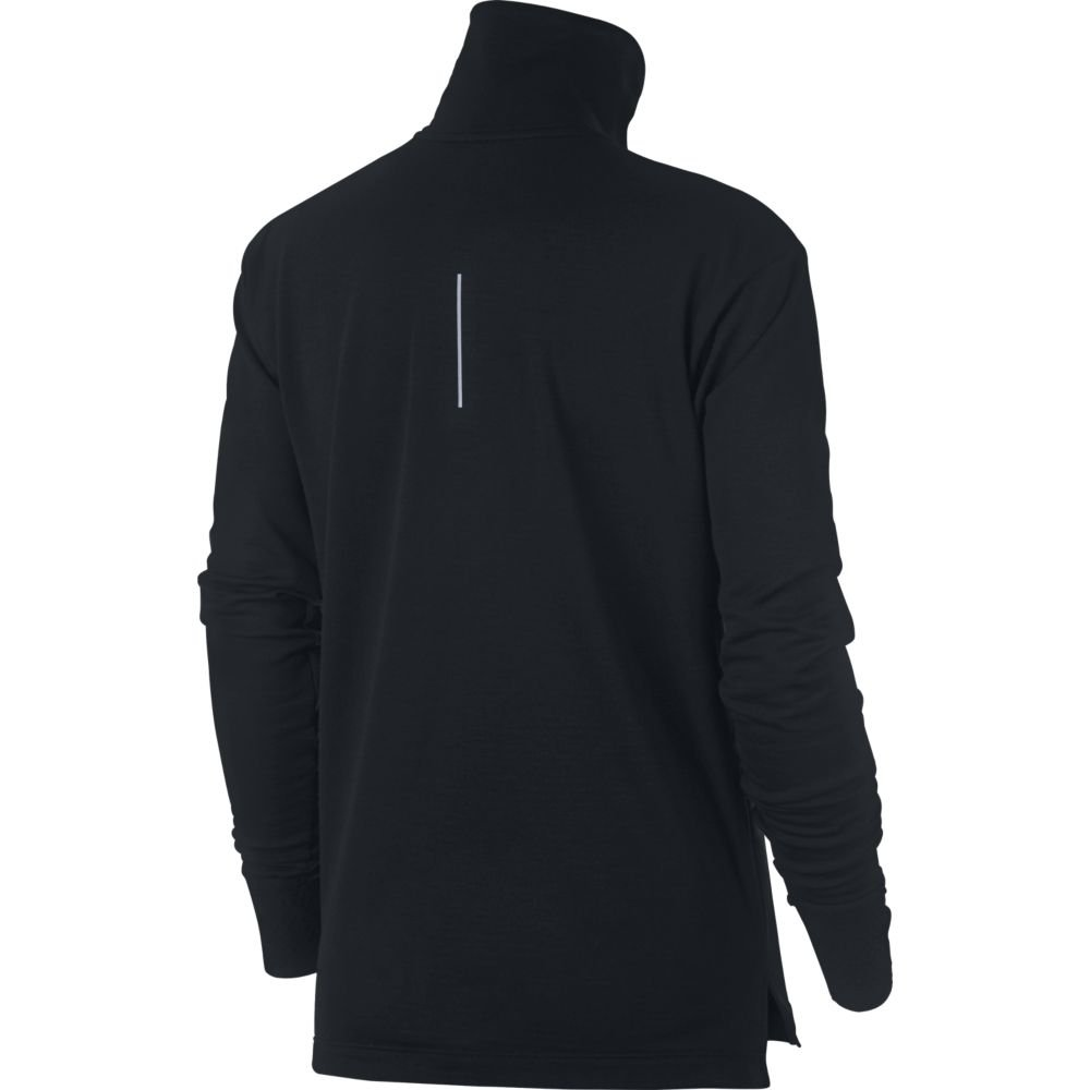 nike therma-sphere half-zip top w czarna