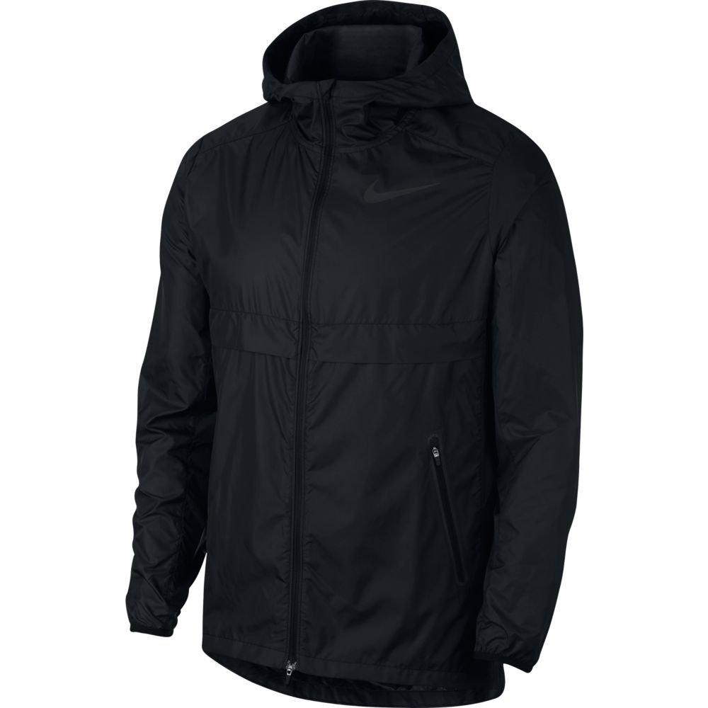 nike shield running jacket m czarna