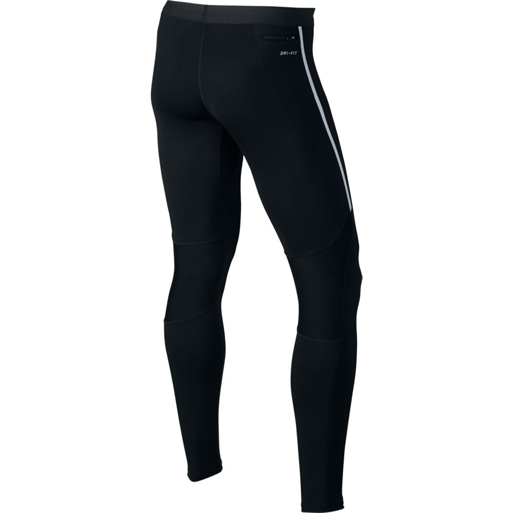 "nike tech 28.5"" running tights m czarne"