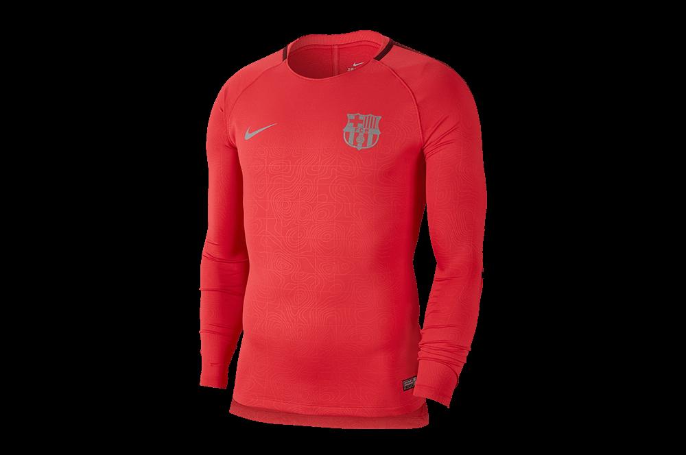 hurtownia online klasyczny styl sklep Bluza Nike FC Barcelona Dry Squad Top (919911-691)