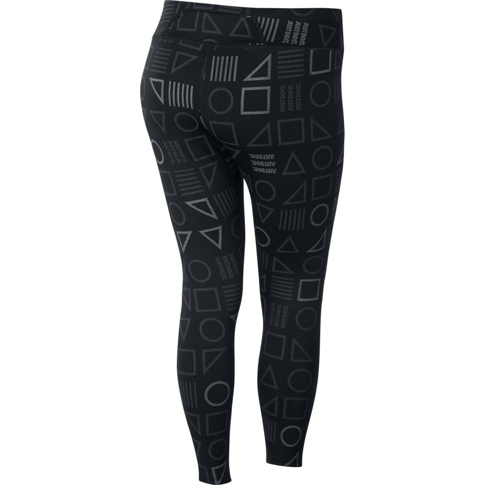 nike epic lux flash printed tights w czarne