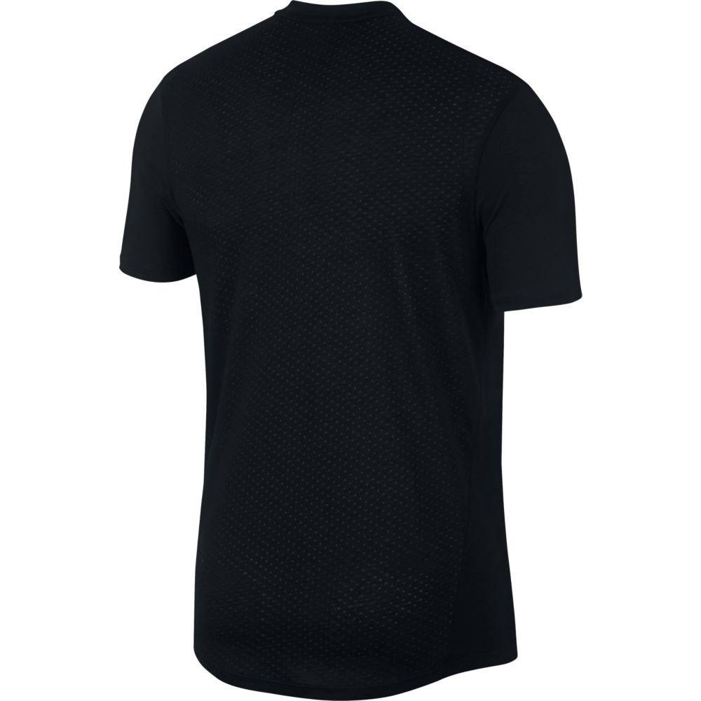 nike rise 365 short-sleeve top m czarna