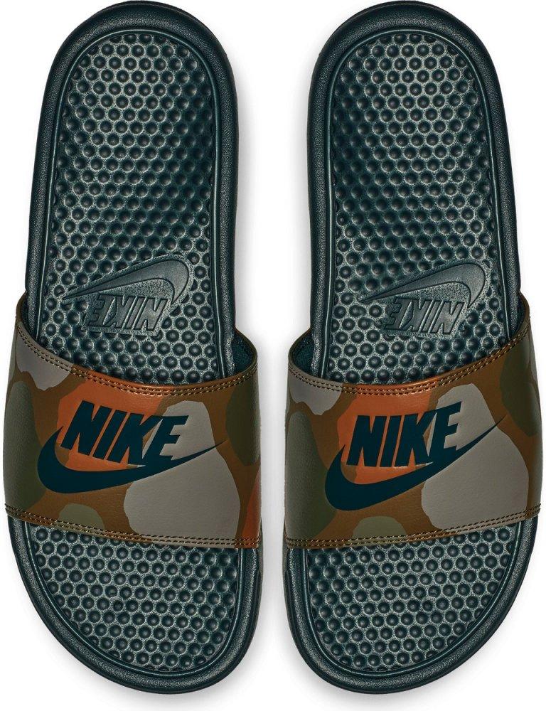 informacje o wersji na informacje dla szerokie odmiany Klapki Nike Benassi JDI Print (631261-300)