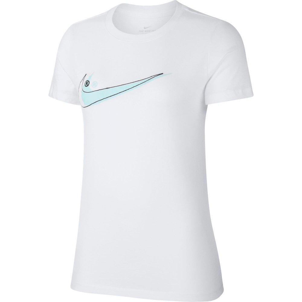 koszulka nike wmns double swoosh (ar5371-100)