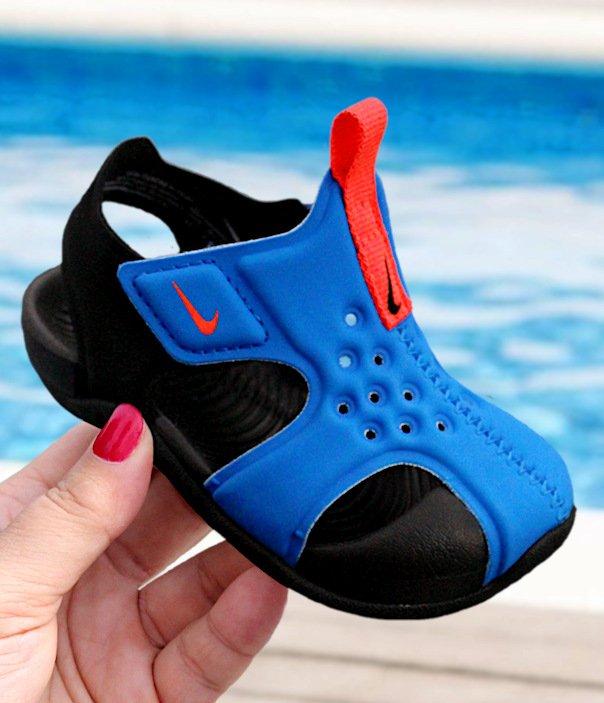 Nike Sunray Protect 2 (TD) niebiesko czarne