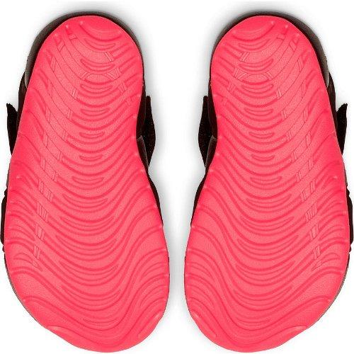 nike sunray protect 2 (td) czarno-różowe
