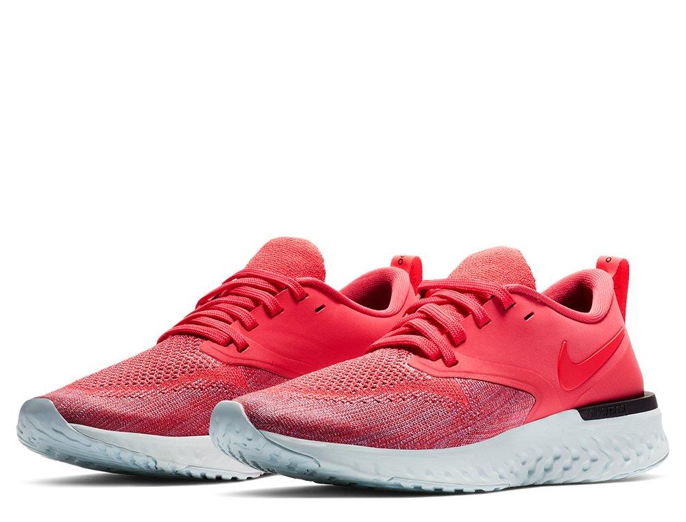 urzędnik wysoka jakość pierwsza stawka Nike Odyssey React Flyknit 2 W Czerwono-Koralowe
