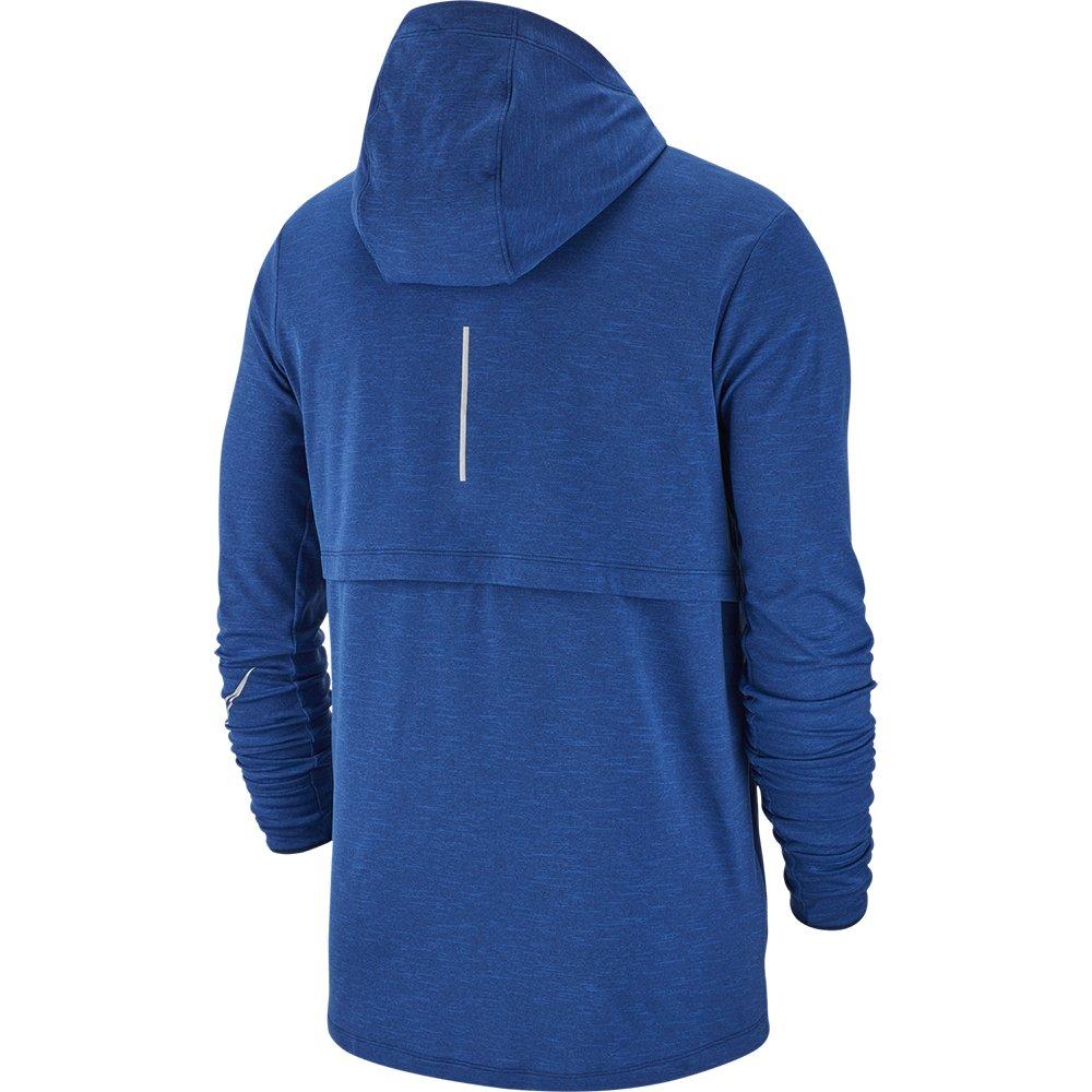 nike sphere hoodie m niebieska