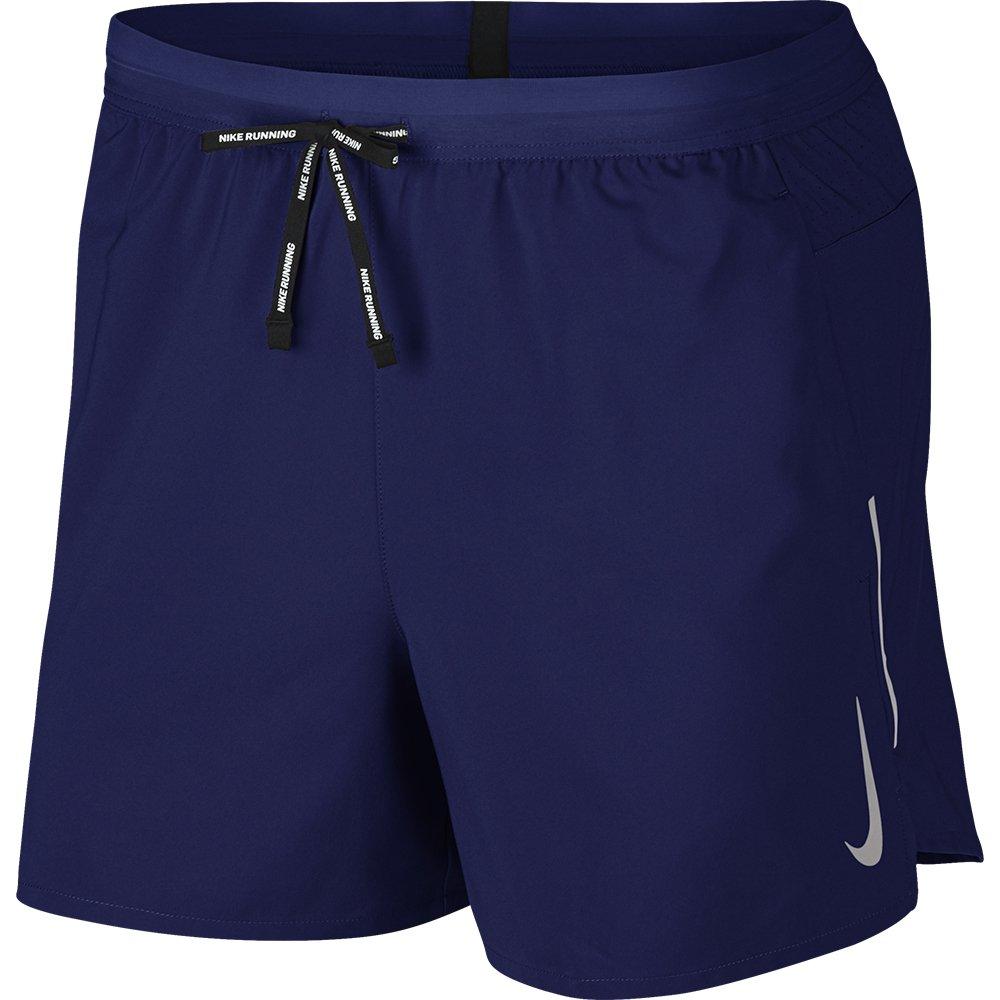 nike flex stride 5 inch shorts m granatowe