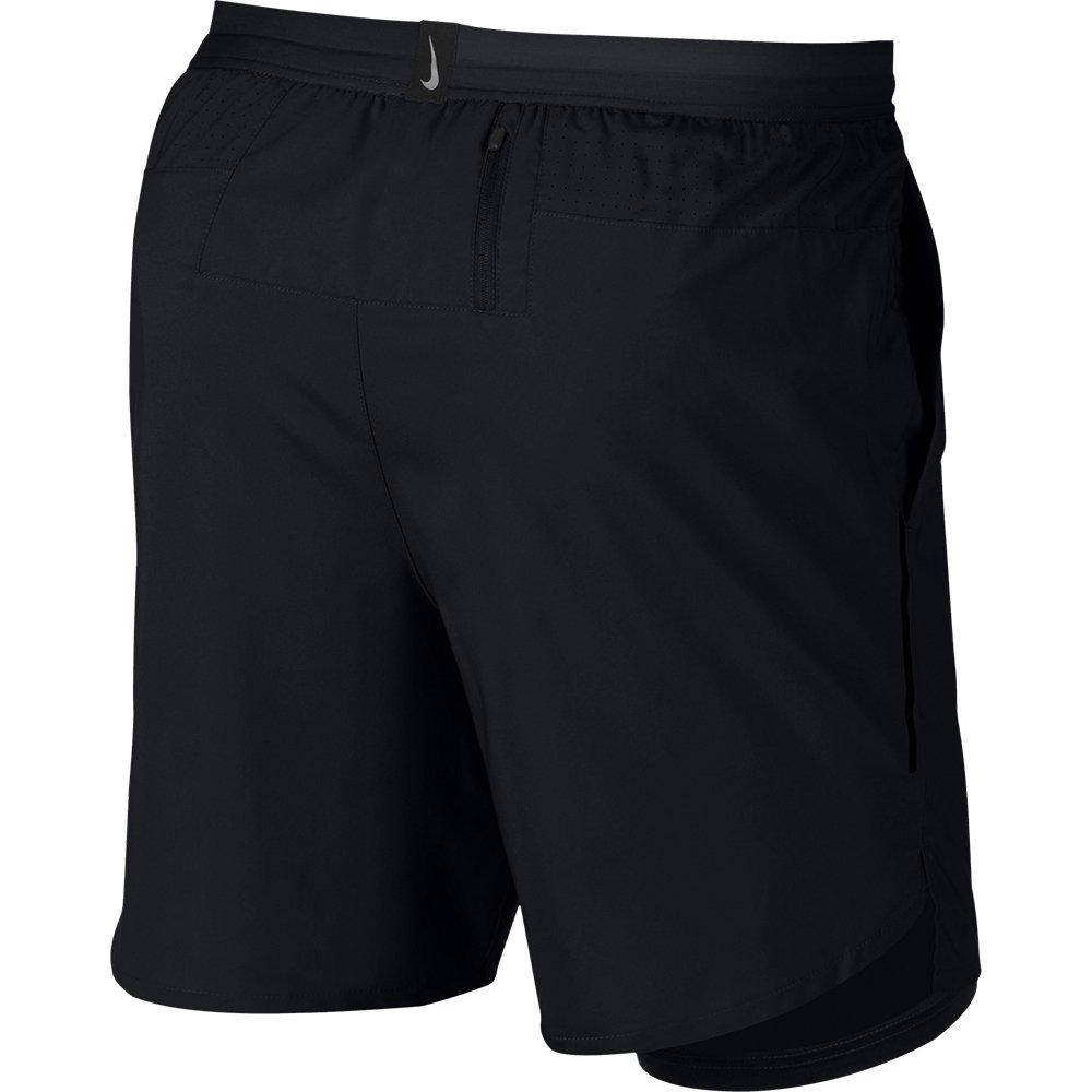 nike dri-fit flex stride 7 inch 2 in 1 shorts m czarne